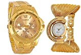 Aaradhya Fashion Men & Women Watch Combo...