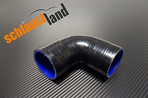 Preisvergleich Produktbild Silikonschlauch 90° Innendurchmesser 19mm schwarz***