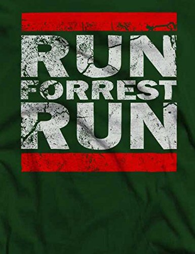 Run Forrest Run T-Shirt S-XXL 12 Colori / Colours Verde scuro