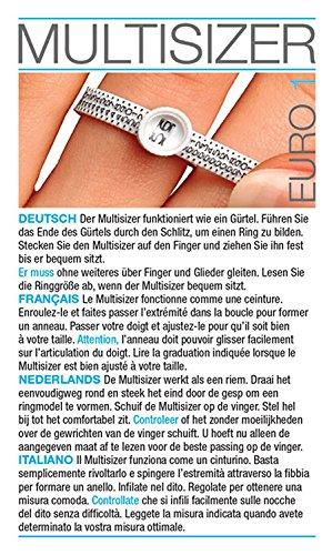 Ring Finger Sizer Gauge Euro 40-76 - Ringmanometer