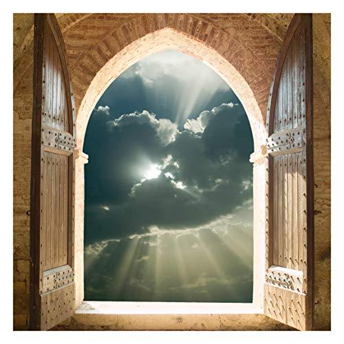 Fototapete selbsthaftend - Himmelspforte - Wandbild Quadrat 240 x 240 cm