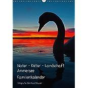 Natur - Kultur - Landschaft Ammersee (Wandkalender 2017 DIN A3 hoch): Kulturlandschaft westlicher Ammersee und Herrsching 2013 (Familienplaner, 14 Seiten ) (CALVENDO Natur)
