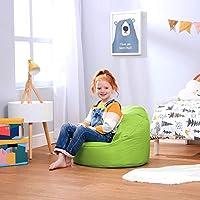 Bean Bag Bazaar Hug Chair Kids Bean Bag - Small Medium, Indoor Outdoor BeanBags For Kids