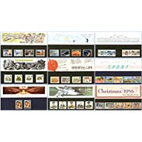 1986 confezione commemorativa anno Set di 9 confezioni, Francobolli Royal Mail