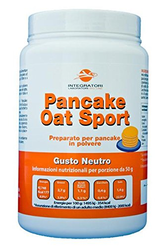 Isoliertes Protein Blend (Pancake Oat Sport (Gusto Neutro) con 39% di proteine)