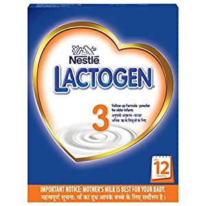 Nestlé Lactogen 3 Follow-Up Infant Formula Powder, After 12 months, 400g