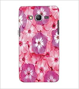 PrintDhaba Flowers D-5356 Back Case Cover for SAMSUNG GALAXY GRAND PRIME (Multi-Coloured)