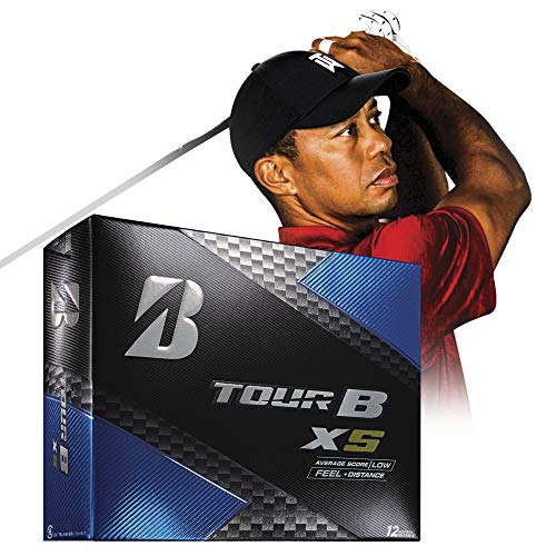 Bridgestone Golf TourB XS Golfball, Weiß, Medium (B330 Bridgestone Golfbälle)