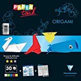 Clairefontaine – Papel Touch Nivel Intermedio Origami Kit, multicolor, 20 x 20 cm, hojas de 30