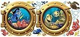 RoomMates Finding Nemo Peel And Stick Giant Decalcomanie della Parete, Multicolor