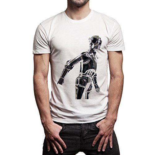 Star Wars Battlefront Jedai Yedi Game Rebels Robot Background Herren T-Shirt Weiß