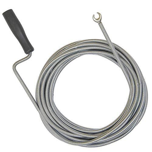 10 Meter Rohrreinigungsspirale 9 mm Durchmesser