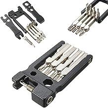 Mohoo Los detalles sobre 19 en 1 Multi Portable Herramientas de reparación de bicicletas kit del sistema de Llave hexagonal Destornillador Llave