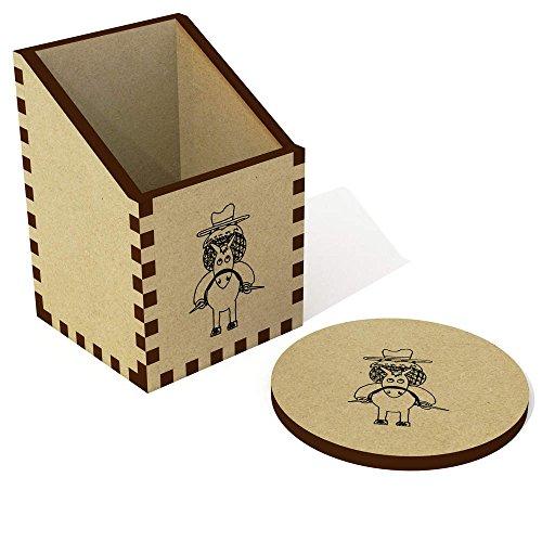 'Cowboy' Schreibtisch Aufgeräumt / Stiftehalter (DT00009611) (Cowboys Schreibtisch)
