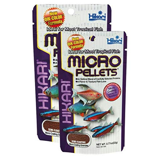 Hikari Tropical Micro Pellets 22 g * Pack von zwei * - Bundle