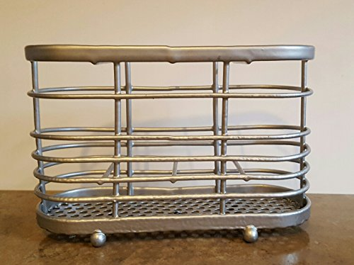 luxury-stainless-steel-cutlery-stand-and-drainer-silver
