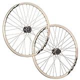 Taylor Wheels 26 Zoll Laufradsatz Mach1 MX Disc Shimano M475 6 Loch weiß