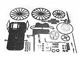 Dampfmaschine Dampfauto Mini Steam, Bausatz