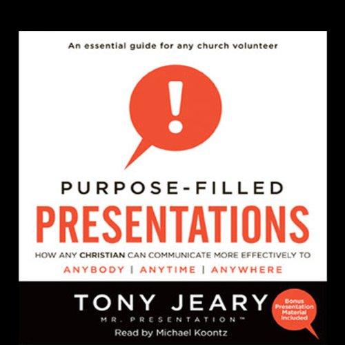 Purpose-Filled Presentations  Audiolibri