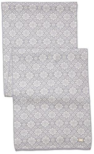 Dale of Norway - Écharpe pour femme Sonja, couleur Gris - Light Grey/Off White