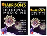Harrison's Principles of Internal Medicine 19th Edition and Harrison's Manual of Medicine 19th Edition (EBook) VAL PAK