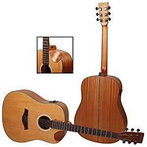 Kadence Slowhand Series Premium Acoustic Guitar, Cedar Top