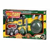 #9: VSHINE Kids pretend Army Toy Play set - with Military Equipments, Fancy Dress Cosplay, Role Play Game