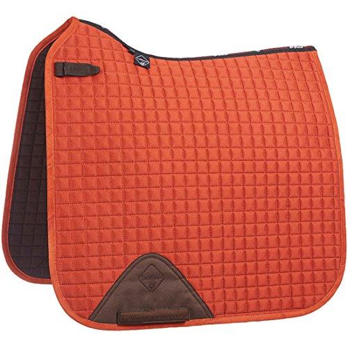 LeMieux Pro Sport Lustre Dressage Square Small/Medium Burnt Orange (Horse Orange Schabracke)