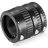 Full Autofocus - Ensemble de 3 Tubes-allonge Macro Auto AF pour Sony ALPHA ( monture Sony-A) Sony Alpha SLT-A58, SLT-A77, SLT-A65, SLT-A58, SLT-A77, SLT-A65, SLT-A99
