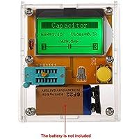 Pantalla LCD ESR transistor Tester multifuncional Resistencia inductor de condensadores SCR Mos triodo tubo Regard