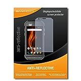 2 x SWIDO® Protector de pantalla Caterpillar Cat S31 Protectores de pantalla de película 'AntiReflex' antideslumbrante