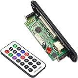 BEETEST Portátil inalámbrico Bluetooth 12V MP3 WMA Placa de Decodificador Junta audio módulo coche soporte U-disk tarjeta TF FM función de radio