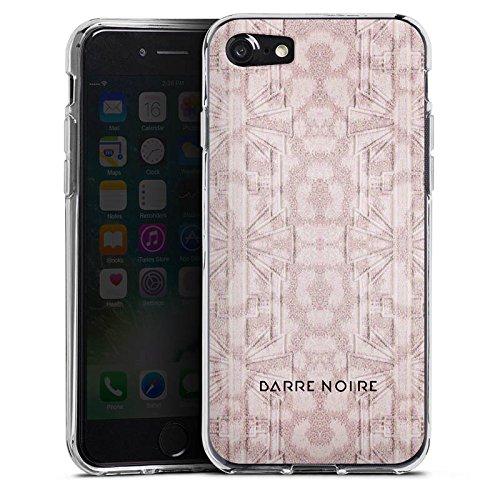 Apple iPhone X Silikon Hülle Case Schutzhülle Blumenmuster Blumen Muster Silikon Case transparent