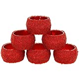 Set of 6 - Napkin Rings Pack Hollow Out ...