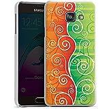 Samsung Galaxy A3 (2016) Housse Étui Protection Coque Floral Fioriture Vrilles
