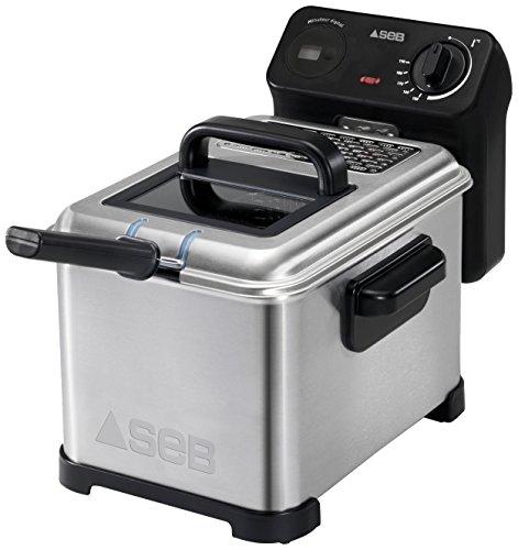 SEB FR405700 Semi Pro Family Pro Friteuse Inox/Noir 3 L