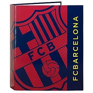 Futbol Club Barcelona - Carpeta Folio con 4 Anillas y Lomo Ancho (SAFTA 511572657)