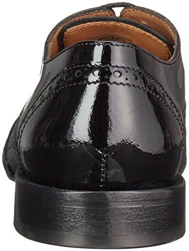 Lottusse S8487, Brogues Femme Noir - Schwarz (Vernis Negro)