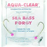 Aqua Clear SP-1B Combination Bottom Rig, Clear And Nickel Finish