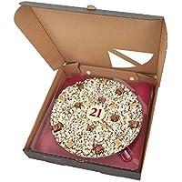 21 cumpleaños Chocolate Pizza - 10 pulgadas