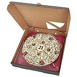 21st Birthday Chocolate Pizza - 10 Inch
