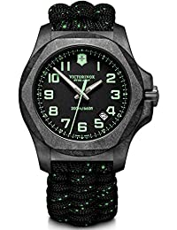 Victorinox Men's I.N.O.X. Carbon - Swiss Made Analogue Quartz Carbon Steel Watch 241859