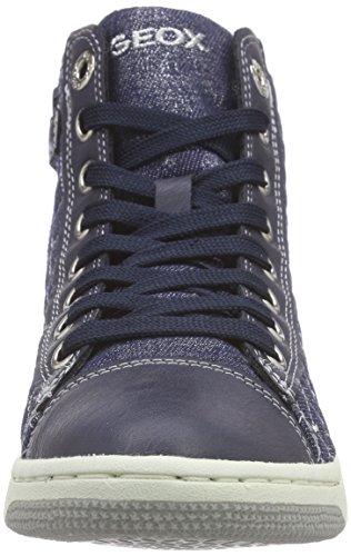 Geox Mädchen Jr Creamy B High-Top Blau (Navyc4002)