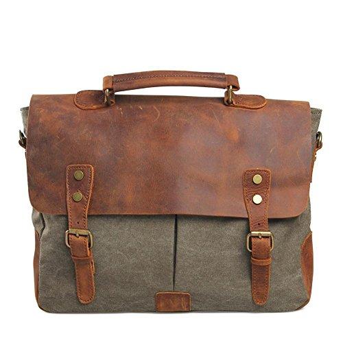 Europa e negli Stati Uniti gli uomini e le donne spalla borsa di tela borsa valigetta commercio estero borsa della borsa casuale , deep blue army green