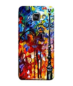 PrintVisa Oil Hand Painting 3D Hard Polycarbonate Designer Back Case Cover for Samsung Galaxy A7 (6) 2016 :: Samsung Galaxy A7 2016 Duos :: Samsung Galaxy A7 2016 A710F A710M A710Fd A7100 A710Y :: Samsung Galaxy A7 A710 2016 Edition