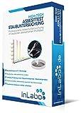 Original InLabo Asbesttest einer HAUSSTAUBPROBE - HIGH-TECH ANALYSE für Hausstaub