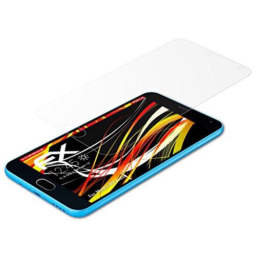 atFolix Schutzfolie kompatibel mit Meizu M2 Note Bildschirmschutzfolie, HD-Entspiegelung FX Folie (3X)