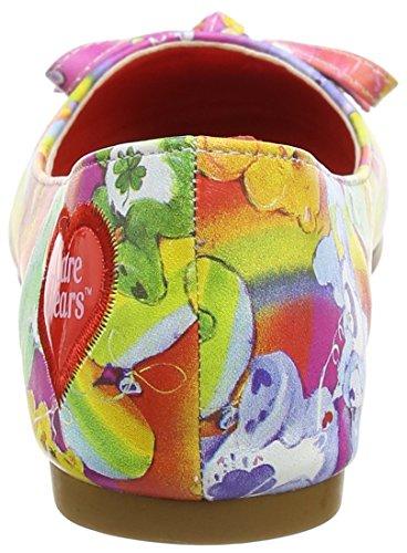 Iron Fist Lots A Rainbows Flat, Semelle compensée femme Multicolour (Multi)
