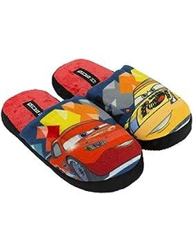 Disney - Zapatillas de Estar por casa de Terciopelo para niño Rojo Rojo 29