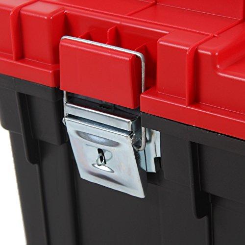 Kunststoff Werkzeugkoffer Formula HD BOX Trophy 1 Plus, 80x35cm Kasten Werzeugkiste Sortimentskasten Werkzeugkasten Anglerkoffer - 8